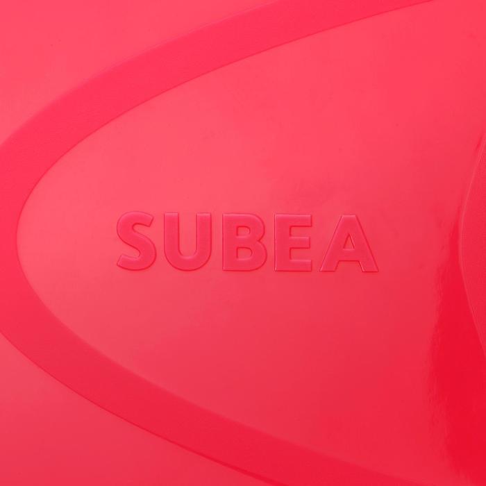 Palmes de snorkeling SNK 520 enfant rose corail