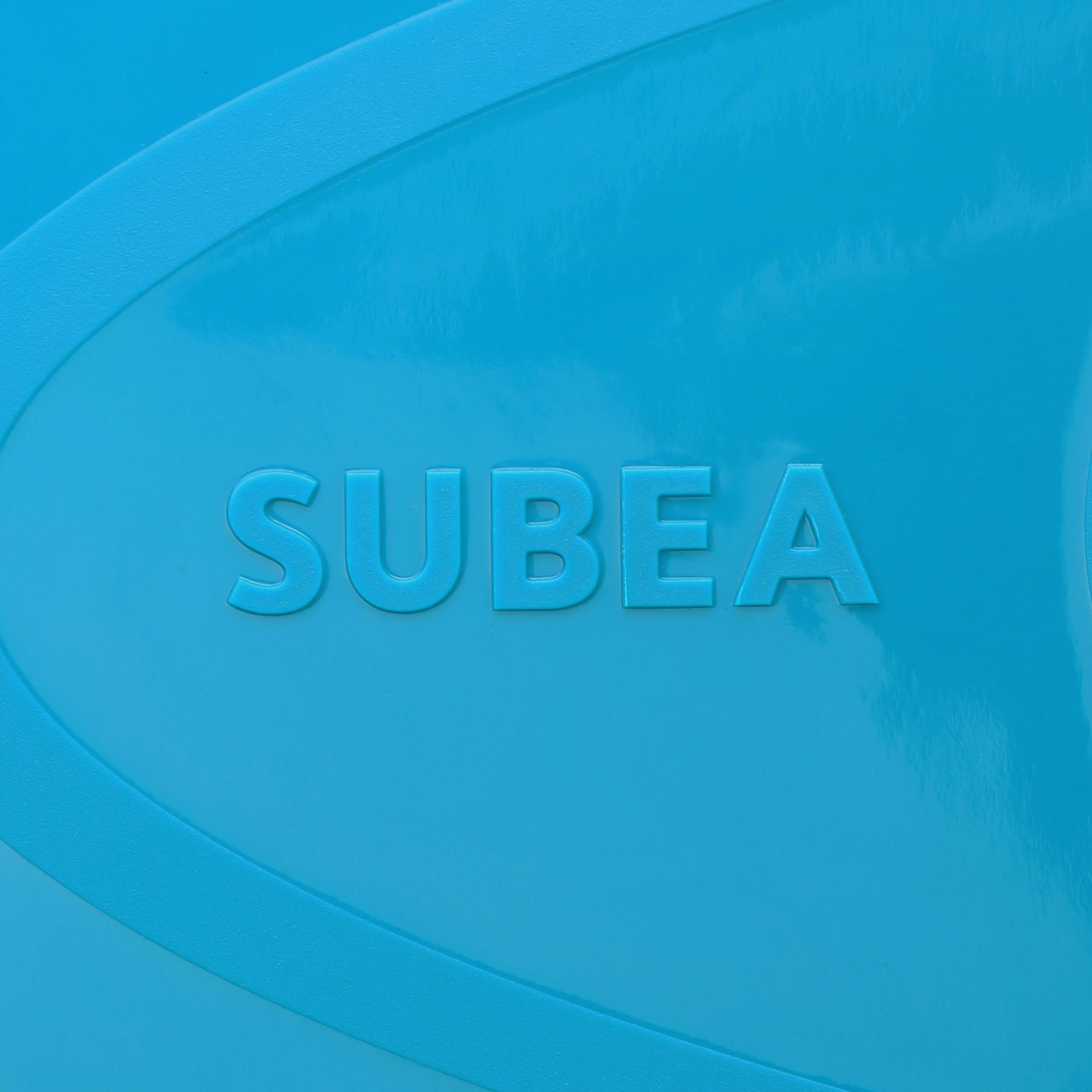 Palmes de plongée libre SNK 520 enfant bleu turquoise
