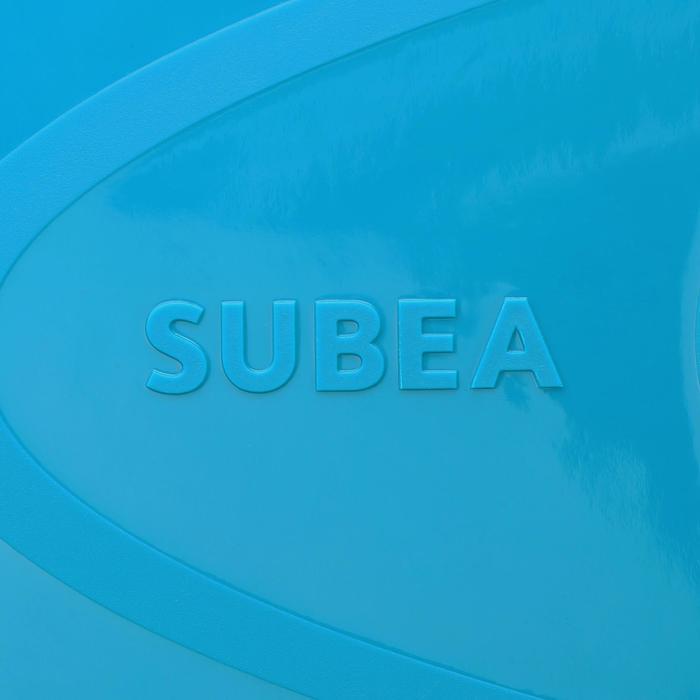 Palmes de snorkeling SNK 520 enfant bleu turquoise - 1093852