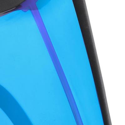 Набір для снорклінгу 500 для дорослих: маска, дихальна трубка – Синьо-чорний