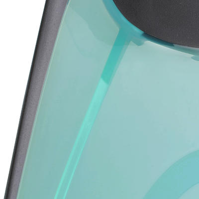 SNK 520 Adult Snorkelling Fins - Black and Mint Green