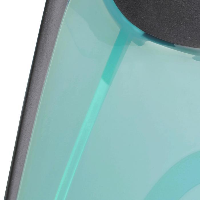 Snorkelset Easybreath masker en snorkelvinnen turquoise zwart