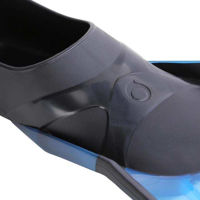 Kit de snorkeling PMT palmes masque tuba 100 enfant bleu noir