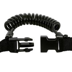 Haak/lamphouder met spiraalsnoer en ring - 1093933