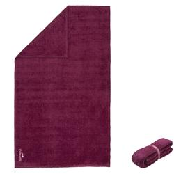 超軟微纖維毛巾 尺寸L 80 x 130 公分-栗色