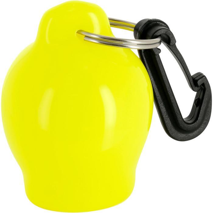 Protège embout octopus plongée sous-marine rond jaune fluo - 1093959
