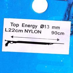 Sandow para fusil de gomas pesca submarina Top Energy poliamida 13 mm