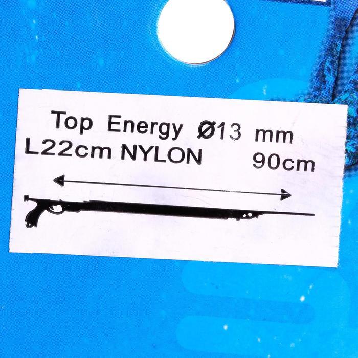 Sandows bi brins Top Energy nylon 13 mm pour arbalète de chasse sous-marine