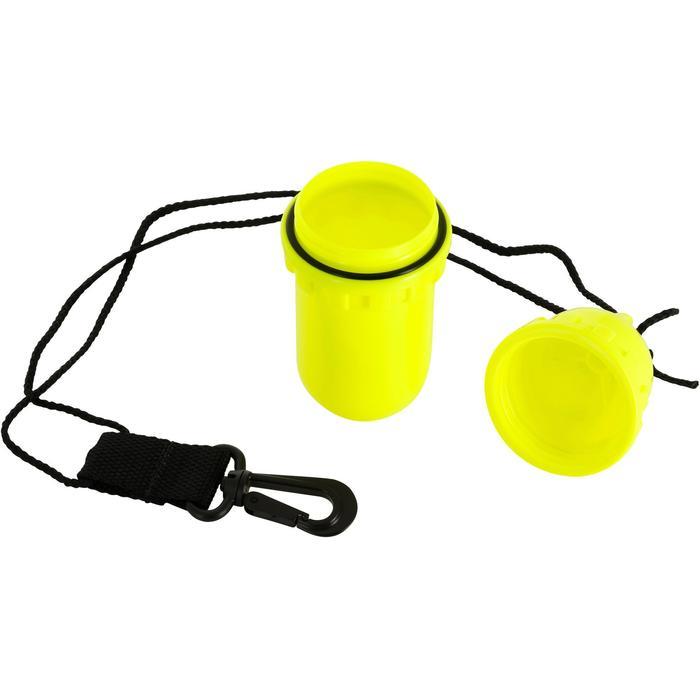 Waterdichte koker in eivorm medium geel - 1093970