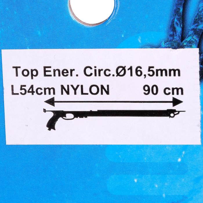 Sandow monofilamento para fusiles de gomas de pesca submarina Top Energy 16,5 mm