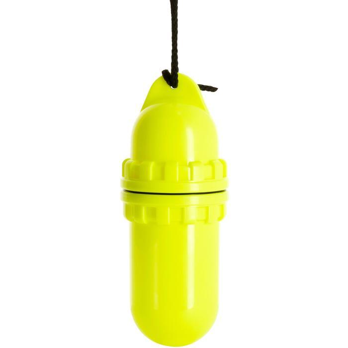 Waterdichte koker in eivorm medium geel - 1094029