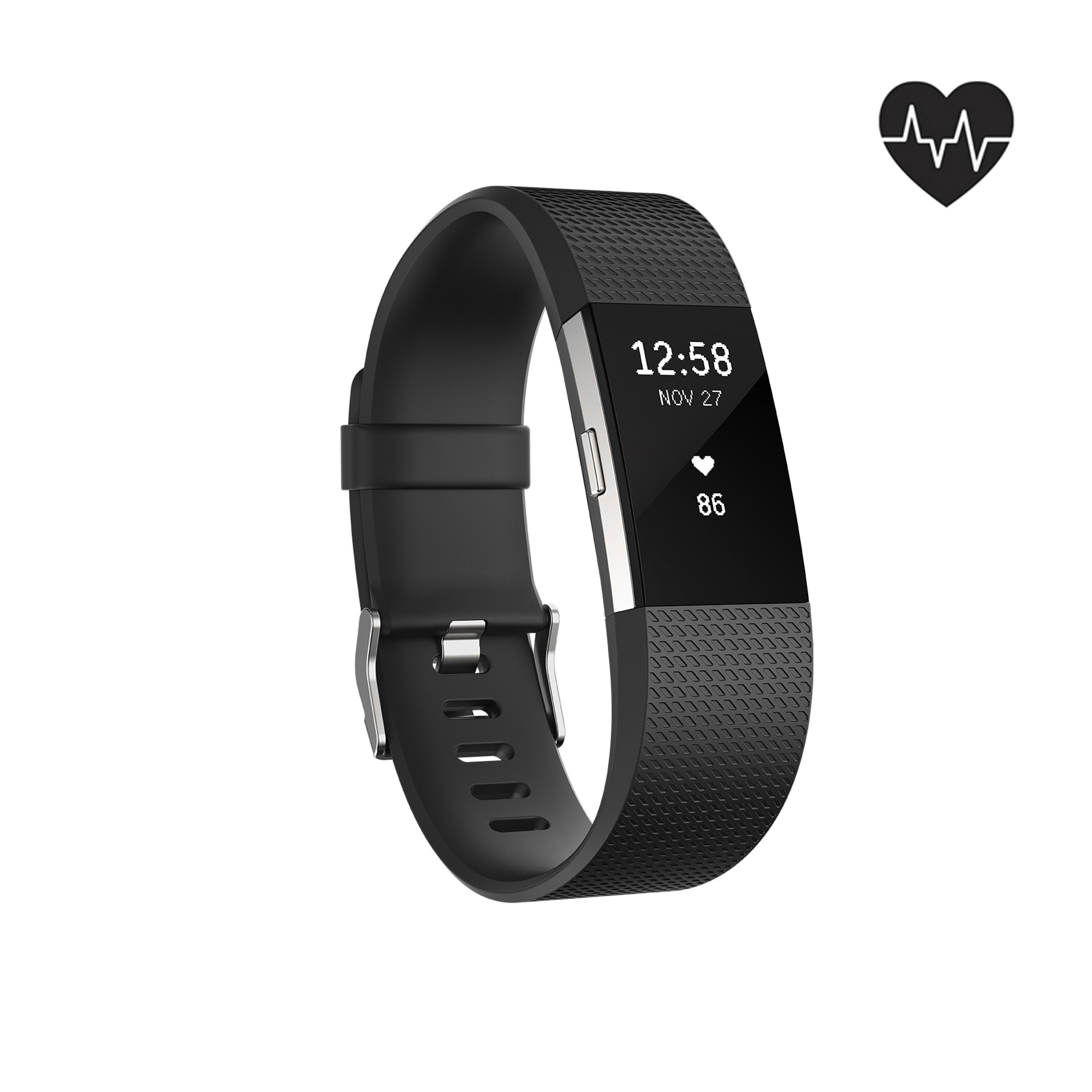 FITBIT Charge 2 Zwart S