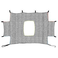 Target shot voor Classic en Basic goal maat L 3x2 m grijs