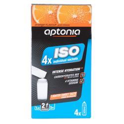 Bebida isotónica en polvo ISO naranja 4 x 38 g