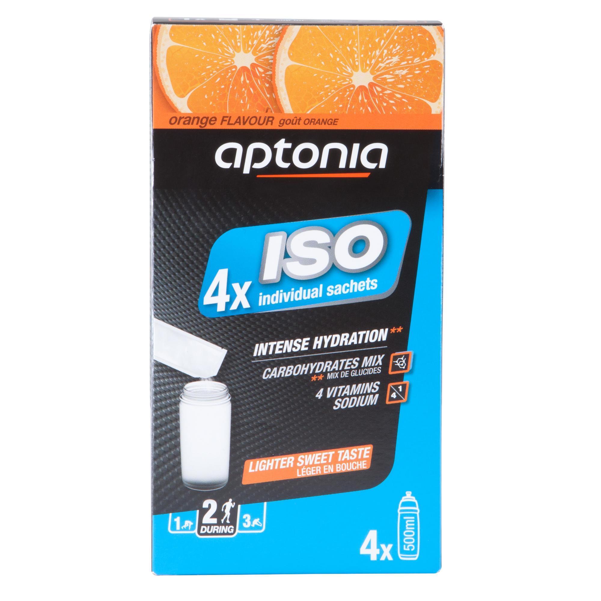 Iso-Getränkepulver Iso Orange 4 נ38 g