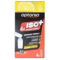 Boisson isotonique poudre ISO+ Citron 4x38g