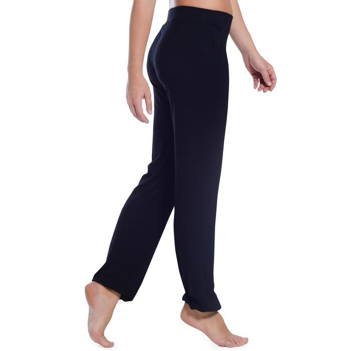 Pantalon ajustable fille noir - 1094195