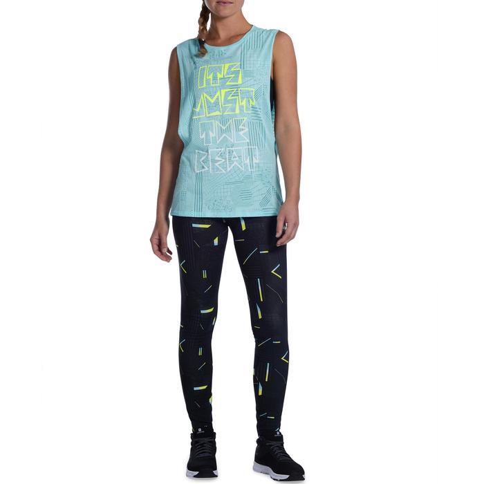 T shirt sans manche danse effet - 1094212