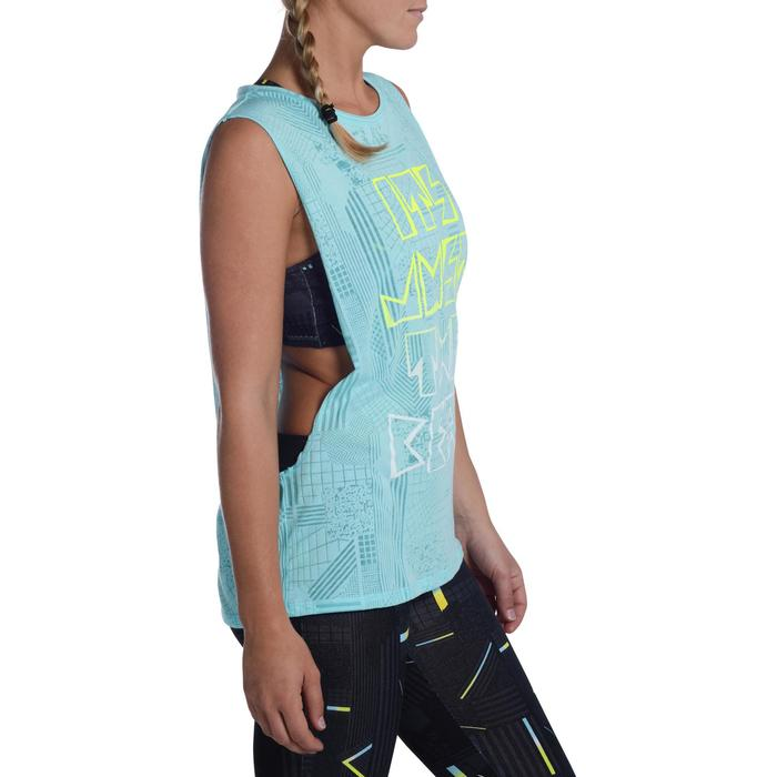 T shirt sans manche danse effet - 1094248