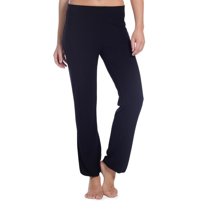 Pantalon ajustable fille noir - 1094279