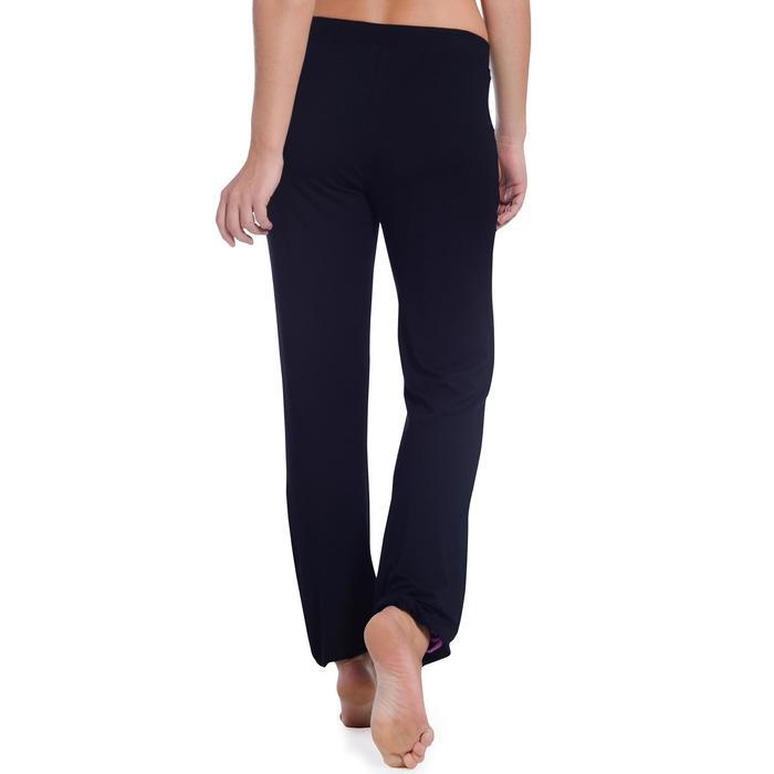 Pantalon ajustable fille noir - 1094308