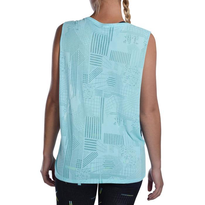 T shirt sans manche danse effet - 1094432