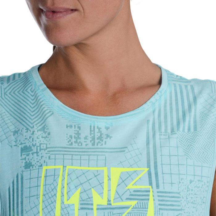 T shirt sans manche danse effet - 1094434