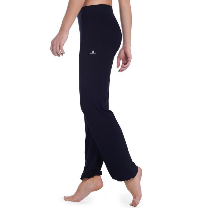 Pantalon ajustable fille noir - 1094458