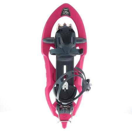 Snow hiking shoes narrow deck TSL 206 EVO - Pink