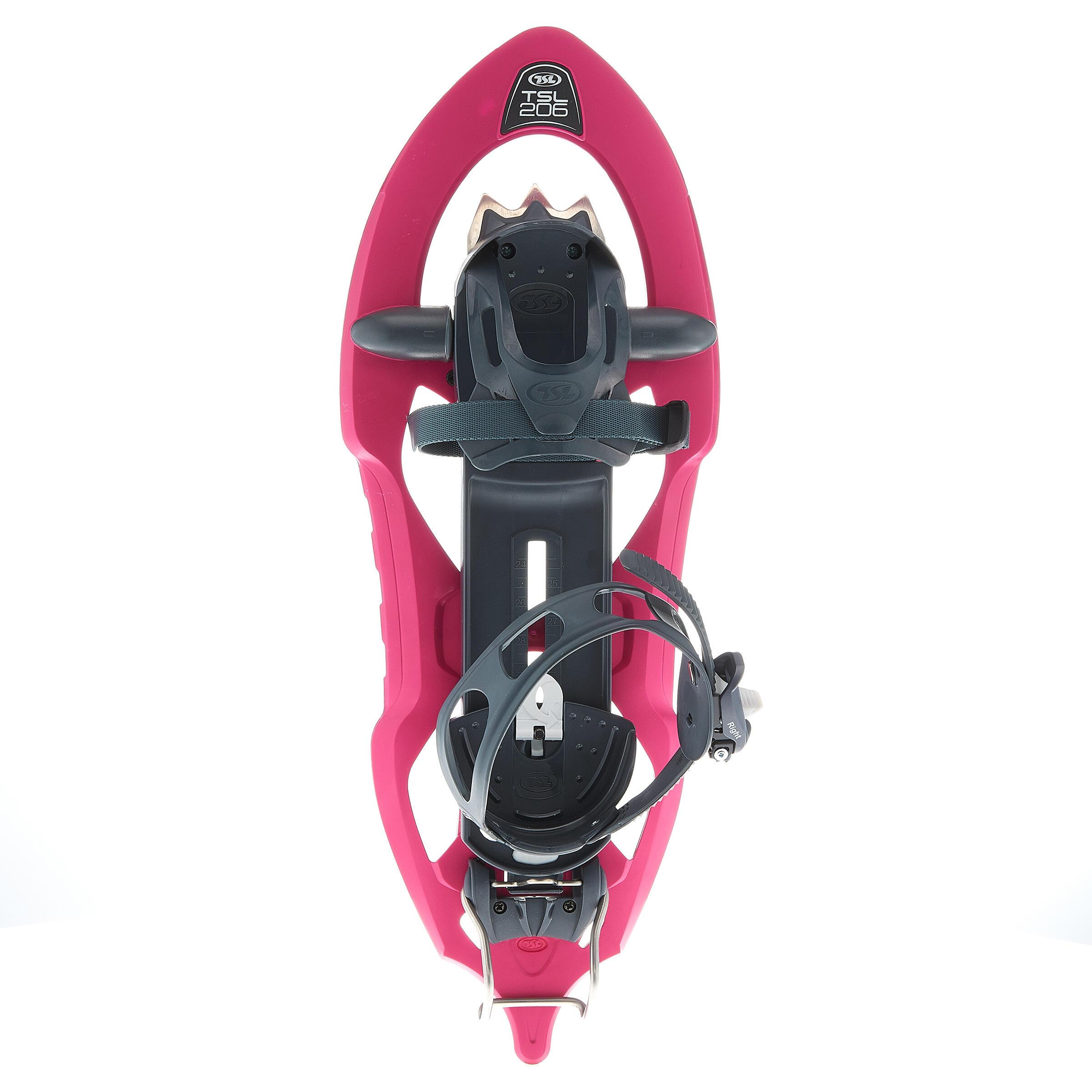 Schneeschuhe TSL 206 EVO kleiner Rahmen pink | Schuhe > Sportschuhe > Schneeschuhe | Tsl