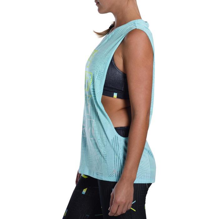 T shirt sans manche danse effet - 1094512