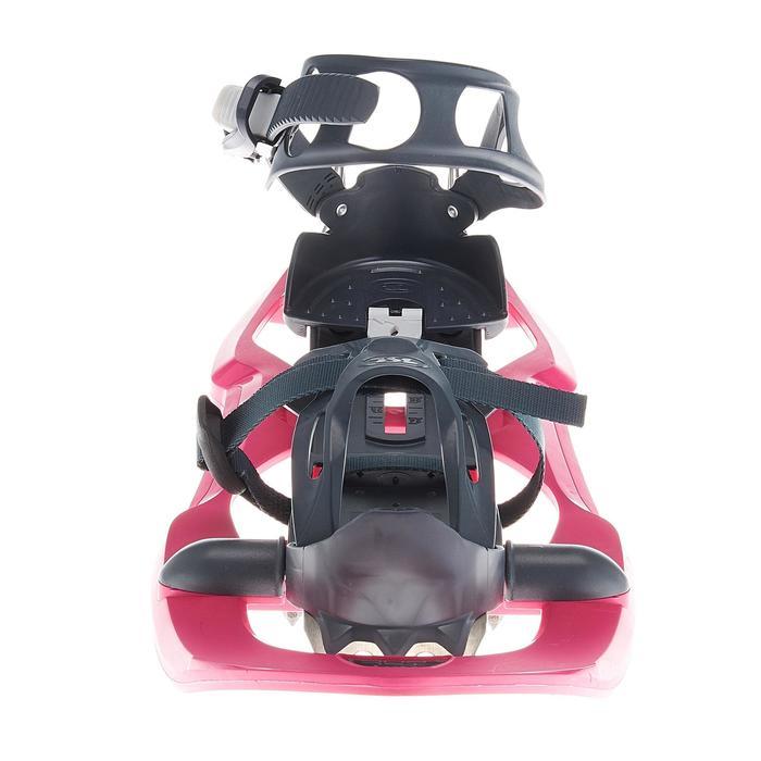 Raquetas Nieve Montaña Senderismo TSL 206 EVO Tamiz Pequeño Rosa