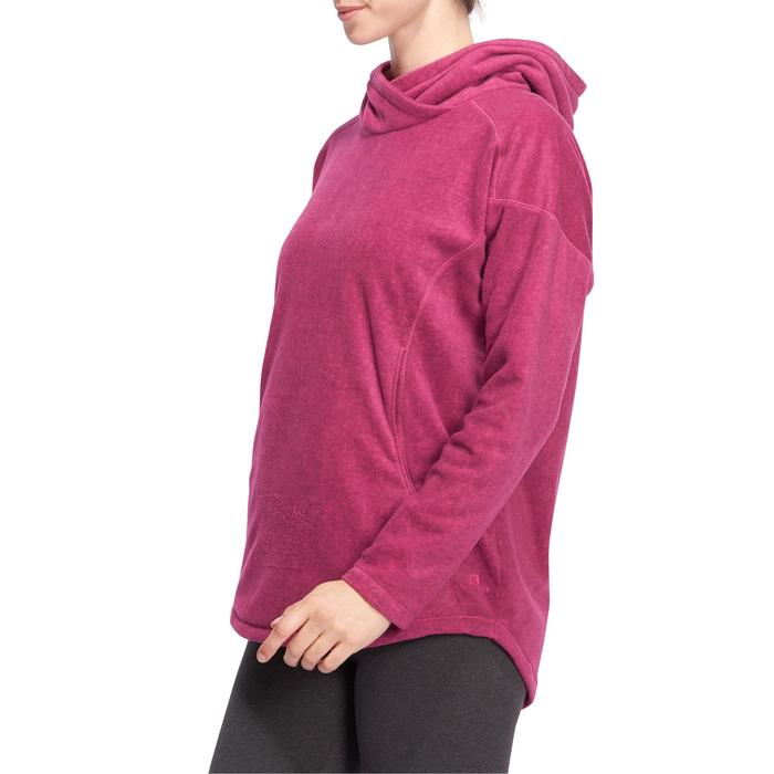 Sweat polaire relaxation yoga femme - 1094840