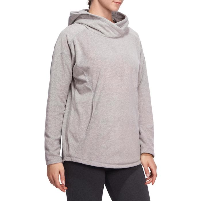 Sweat polaire relaxation yoga femme - 1094914