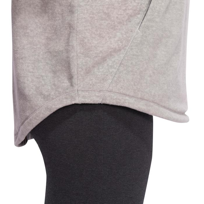 Sweat polaire relaxation yoga femme - 1094954