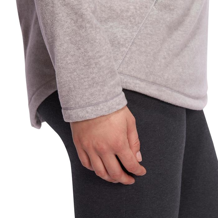 Sweat polaire relaxation yoga femme - 1095038