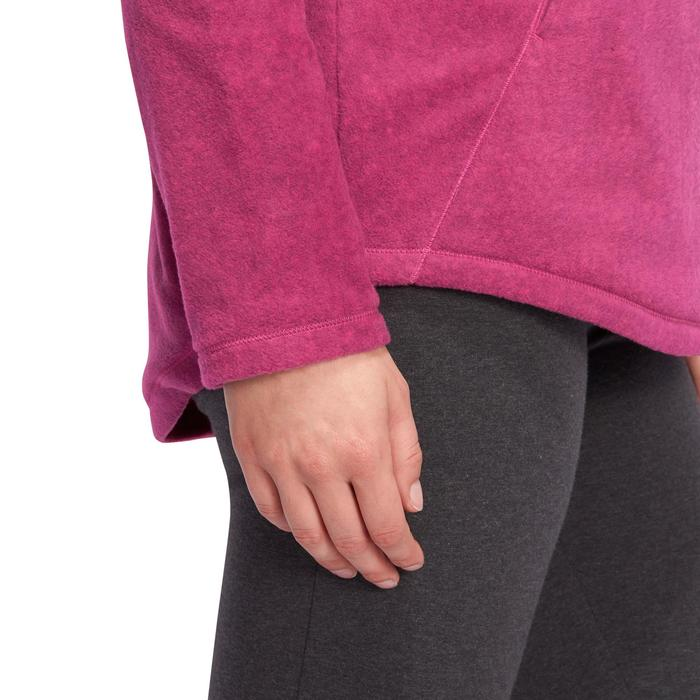 Sweat polaire relaxation yoga femme - 1095050