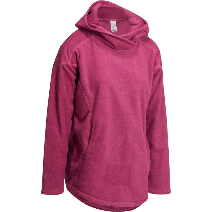 Sweat polaire relaxation yoga femme - 1095093