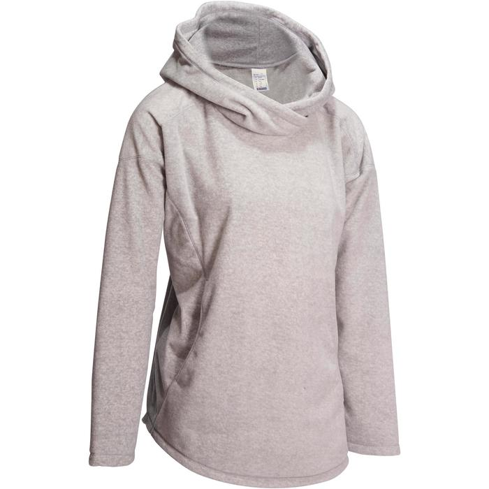 Sweat polaire relaxation yoga femme - 1095094