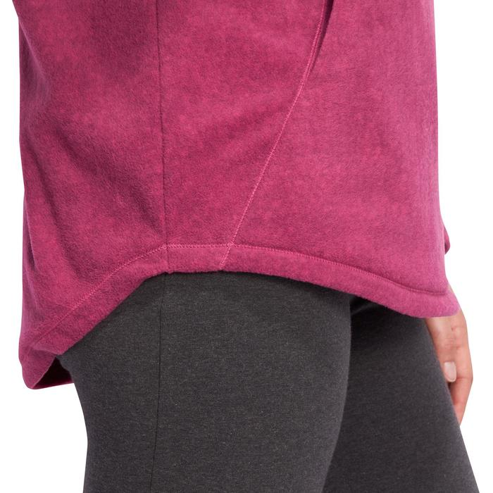 Sweat polaire relaxation yoga femme - 1095105