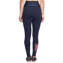 Fitnesslegging Shape met plattebuikeffect voor dames - 1095116