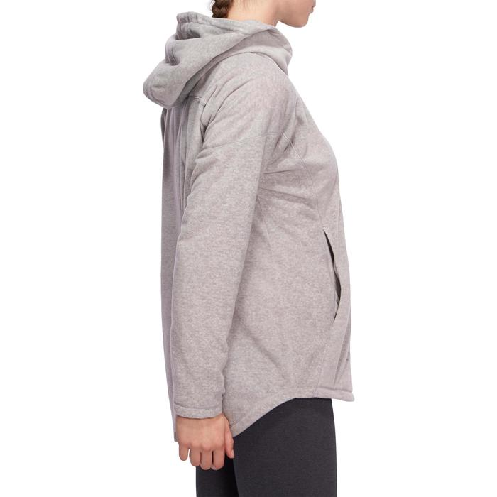 Sweat polaire relaxation yoga femme - 1095123