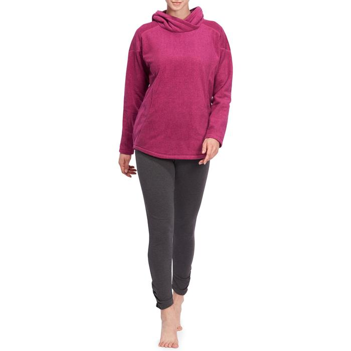 Sweat polaire relaxation yoga femme - 1095134