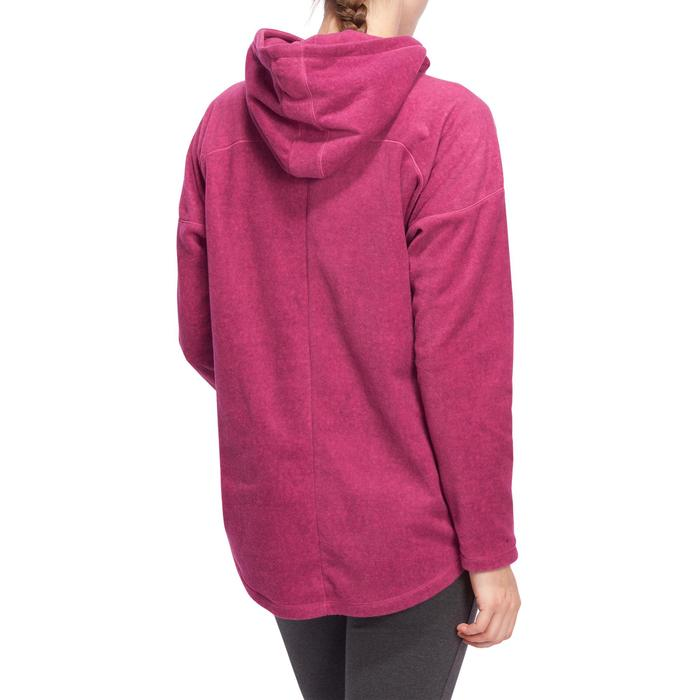 Sweat polaire relaxation yoga femme - 1095138