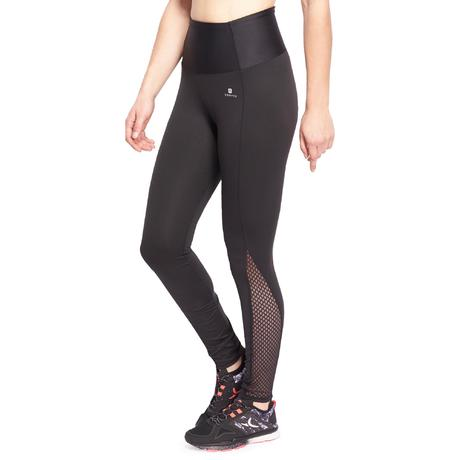 legging dentelle fitness femme noir shape domyos by decathlon. Black Bedroom Furniture Sets. Home Design Ideas