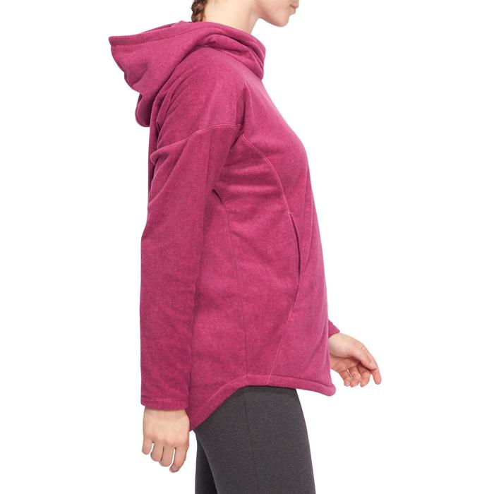 Sweat polaire relaxation yoga femme - 1095149