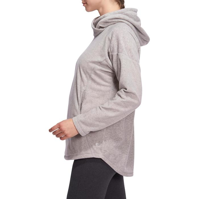Sweat polaire relaxation yoga femme - 1095153