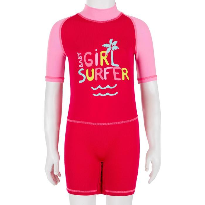 tee shirt anti UV shorty surf manches courtes bébé - 1095245