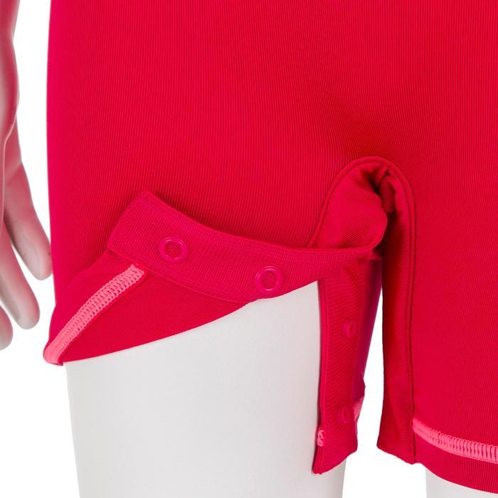 UV-Shorty kurzarm Baby rosa