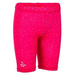 Uv-werende broek voor peuters Surf roze